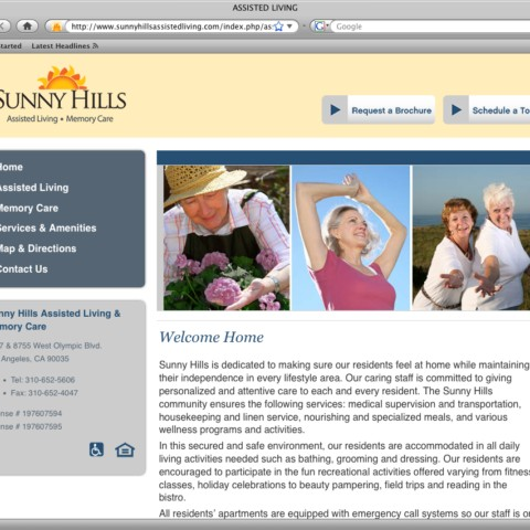 Sunny Hills Assisted Living